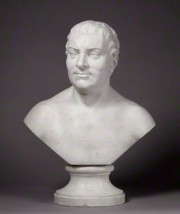 Thomas Hollis by Joseph Wilton, marble bust c 1762